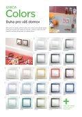 Vypínače a zásuvky Unica - panorama - Schneider Electric CZ, s.r.o. - Page 6