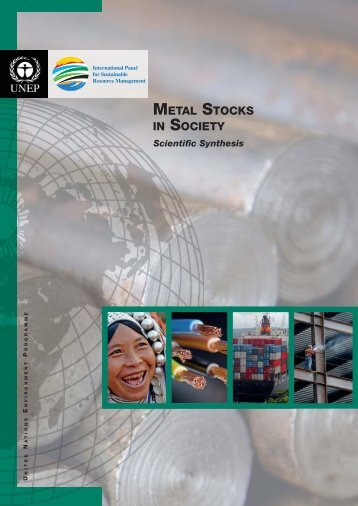 Metal Stocks in Society – Scientific Synthesis - UNEP