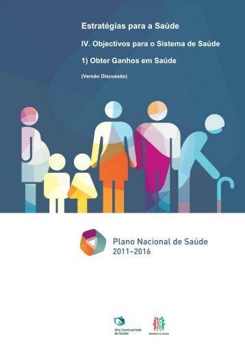 OSS1: Obter Ganhos em Saúde – PNS 2011-2016 - Plano Nacional ...
