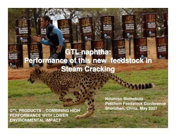 GTL naphtha: Performance of this new ... - CMT Conferences