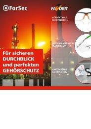 ForSec Katalog - AGIS Industrie Service GmbH & Co.KG