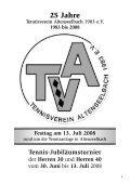 Festschrift 25 Jahre TVA - Tennisverein Altenseelbach eV - T-Online - Seite 3