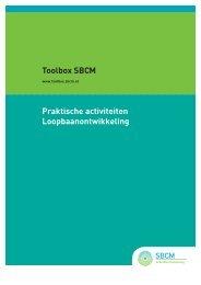 Loopbaanontwikkeling - Toolbox 'arbeidsontwikkeling' - SBCM