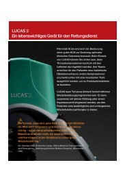 LUCAS™ Datenblatt - AMBU-Tech AG