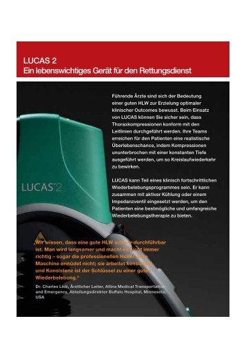 LUCAS™ Datenblatt - AMBU-Tech AG