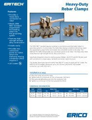 Heavy-Duty Rebar Clamps