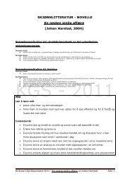 å lese en tekst og bruke læringsstrategier - Lesesenteret