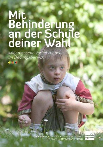 Mit Behinderung an der Schule deiner Wahl - (556kb) - (pdf)