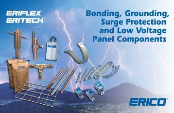 Bonding, Grounding, Surge Protection and Low Voltage Panel - Erico