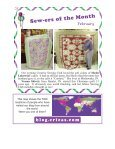 Erica's Craft & Sewing Center Online Newsletter April-June 2012 - Page 3