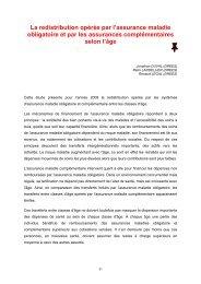 les comptes nationaux de la sante 2010 - Direction générale du Trésor