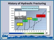 History of Hydraulic Fracturing