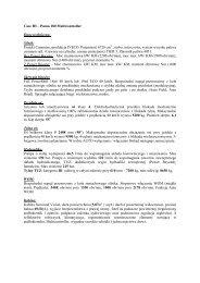 Case IH – Puma 180 Multicontroller Dane techniczne ... - Tech-Kom