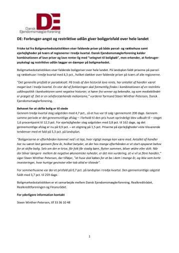 3. kvartal 2011 - Dansk Ejendomsmæglerforening