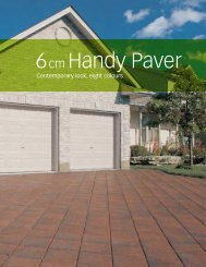 6cm Handy Paver - Triple H Concrete Products