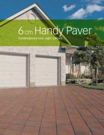 6cm Handy Paver - Triple H Concrete Products