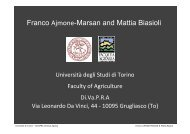 Franco Ajmone-Marsan and Mattia Biasioli - B-Team Initiative