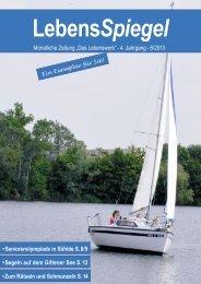 LebensSpiegel 2013/08 - Das Lebenswerk