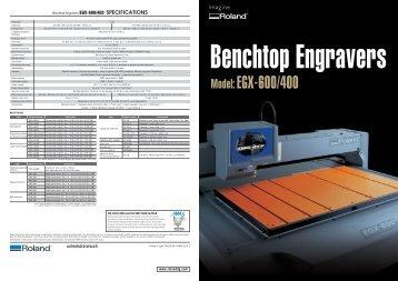 Model: EGX-600/400 - Roland DG
