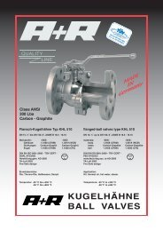 KUGELHÄHNE BALL VALVES