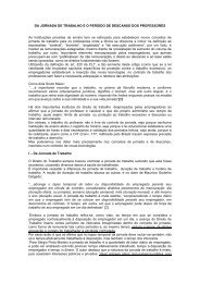 DA JORNADA DE TRABALHO E O PERÍODO DE ... - Sinpro/RS