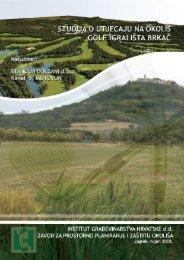 Studija utjecaja na okoliš - Istarska županija