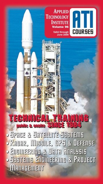 Satellite Communication Systems Engineering - Applied Technology ...