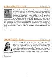 Nicolas MERMOD, UNIL-IBT Vanessa HANIFA, Alcimed