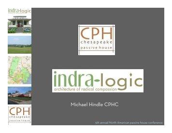 Michael Hindle CPHC - Passive House Institute US