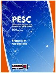 SPONSORSHIP OPPORTUNITIES PONSORSHIP ... - PESC