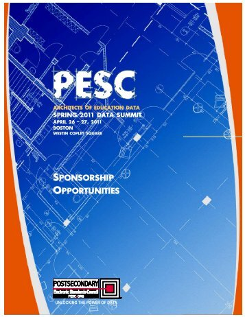 SPONSORSHIP OPPORTUNITIES PONSORSHIP ... - PESC