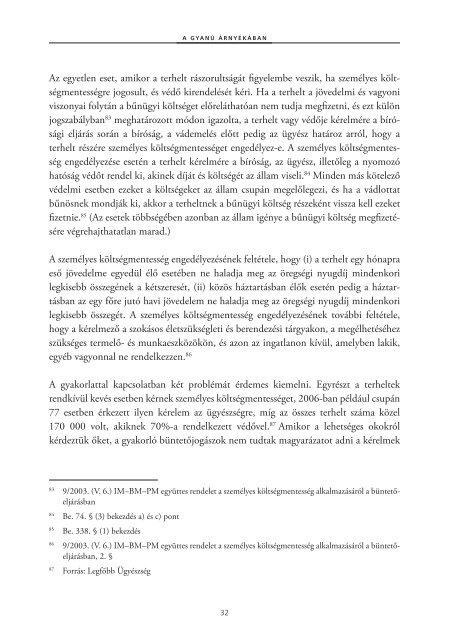 A gyanú árnyékában - Magyar Helsinki Bizottság