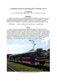 Modernizovaná nízkopodlažní tramvaj K3R-N - Railvolution