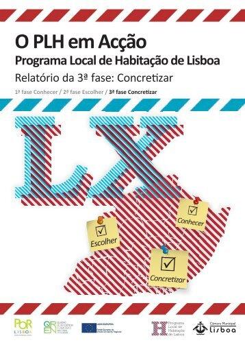 Relatório da 3ª fase - Programa Local de Habitação - Câmara ...