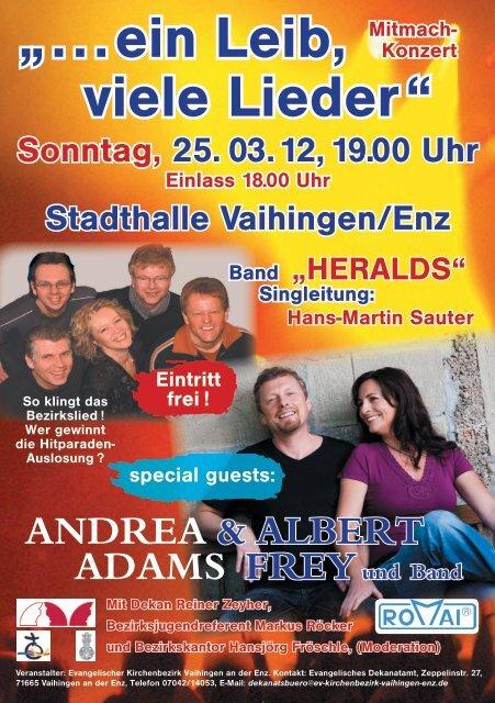 """HERALDS"" Singleitung: Hans-Martin Sauter special guests"