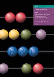 R&D Scoreboard 2006