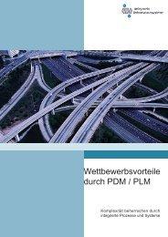 Wettbewerbsvorteile durch PDM / PLM - in-integrierte ...