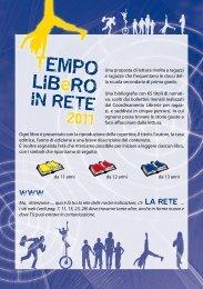 TEMPO LIBeRO 2011 - Sistema Bibliotecario dell'Area di Dalmine