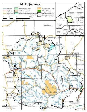 Brokenstraw Creek Draft Maps - Western Pennsylvania Conservancy