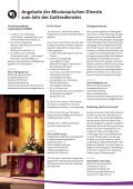 JAHR DES GOTTESDIENSTES - Missionarische Dienste - Seite 2