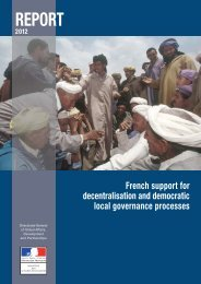 French Support for Decentralisation and Democratic Local ...