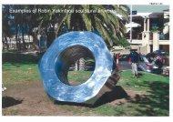 Examples of Robin Yakinthou sculptural artworks