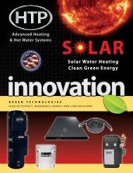 Solar Brochure - Heat Transfer Products, Inc
