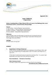Audit Committee Meeting Minutes 09.03.2012