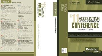 Accounting Show 2011 Brochure_V2.indd - mscpa