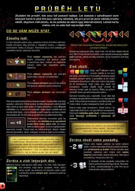 Galaxy Trucker - Czech Games Edition