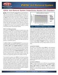 PISTA® Grit Removal System - Smith & Loveless Inc.