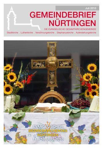 Gedanken zum Monatsspruch Juli 2010 - Evangelische ...