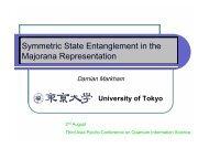 Symmetric State Entanglement in the Majorana Representation