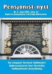 Pensjonist-nytt 2-2003